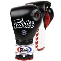 Боксерские перчатки FAIRTEX BGL7 Pro Trening MEXICAN Style black