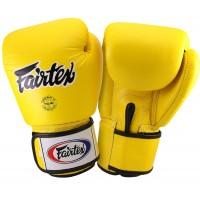 Боксерские перчатки FAIRTEX BGV1 Yellow