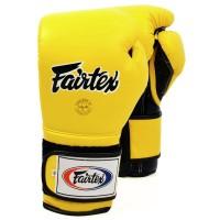 Боксерские перчатки FAIRTEX BGV9 MEXICAN STYLE Yellow
