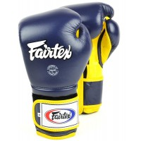Боксерские перчатки FAIRTEX BGV9 MEXICAN STYLE blue