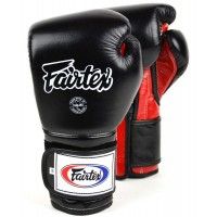 Боксерские перчатки FAIRTEX BGV9 MEXICAN STYLE black