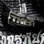 Тайские шорты TOP KING TKTBS-089ЧерныеРазмер XL