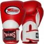 Боксерские перчатки TWINS BGVL-11 Red-White 12 Унций