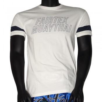FAIRTEX TST-192 ФУТБОЛКА WHITE MUAY THAI