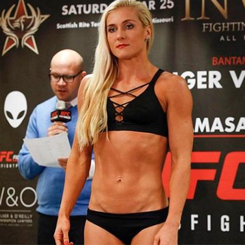 ЧЕМПИОНКА РОССИИ ПО ТАЙСКОМУ БОКСУ ЯНА КУНИЦКАЯ ПОБЕДИЛА  КЕТЛИН ВИЕЙРА НА UFC FIGHT NIGHT 185.