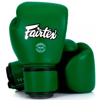 ​БОКСЕРСКИЕ ПЕРЧАТКИ FAIRTEX BGV16 WOMAN REAL LEATHER FORREST GREEN