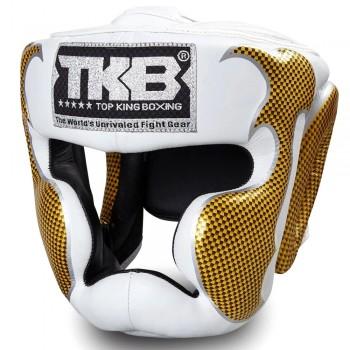 БОКСЕРСКИЙ ШЛЕМ TOP KING TKHGEM-01 GD WHITE GOLD
