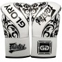 Боксерские Перчатки Fairtex Glory BGVGL2 White  Белые Шнуровка