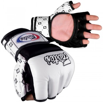 ПЕРЧАТКИ ДЛЯ MMA FAIRTEX FGV17 WHITE-BLACK