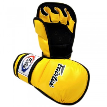 ПЕРЧАТКИ MMA FAIRTEX FGV15 YELLOW