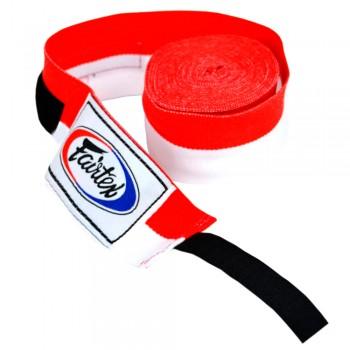Бинты боксерские Fairtex HW2 Red White