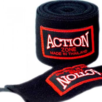 Бинты боксерские Action Zone Black 5 метров