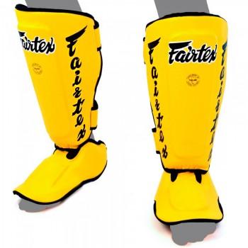 Защита голени и стопы  Fairtex SP7 Twister Yellow