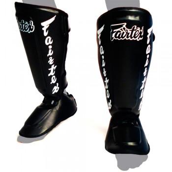 Защита голени и стопы  Fairtex SP7 Twister Black