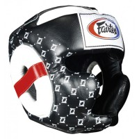 БОКСЕРСКИЙ ШЛЕМ FAIRTEX NEW SUPER SPARRING HG10 BlACK