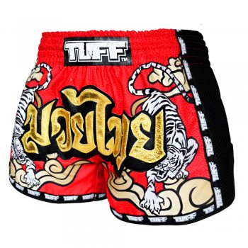 ШОРТЫ TUFF MUAYTHAI SHORTS  Tiger Red