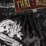 """Детские шорты для тайского бокса""""Thaiboxing"""" TBK-06-Black-Silver-Dragon"""