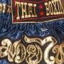 """Детские шорты для тайского бокса""""Thaiboxing"""" TBK-Blue-Gold"""