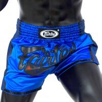Шорты для тайского бокса FAIRTEX SlimCut BS1702 Blue