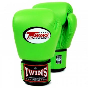 Боксерские перчатки TWINS BGVL-3 Lime