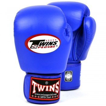Боксерские перчатки TWINS BGVL-3 Blue