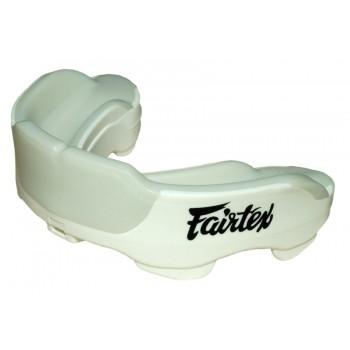 Капа боксерская гелевая Fairtex White для Муай Тай