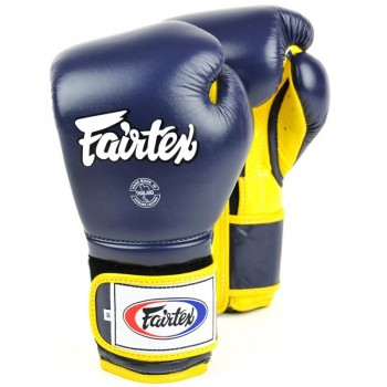 БОКСЕРСКИЕ ПЕРЧАТКИ FAIRTEX BGV9 MEXICAN STYLE BLUE YELLOW